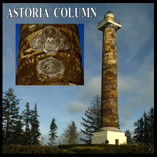 Picture of the Astoria Column