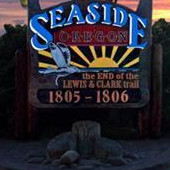 Seaside Turnaround Sign
